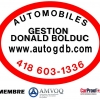 AUTOMOBILES GESTION DONALD BOLDUC
